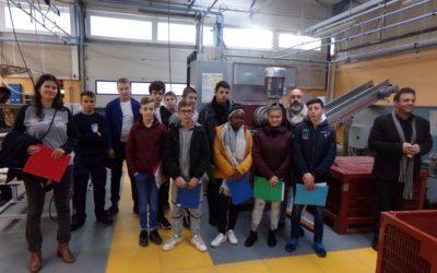 Visite des ateliers du Lycée Pro par les élèves de 3ème SEGPA