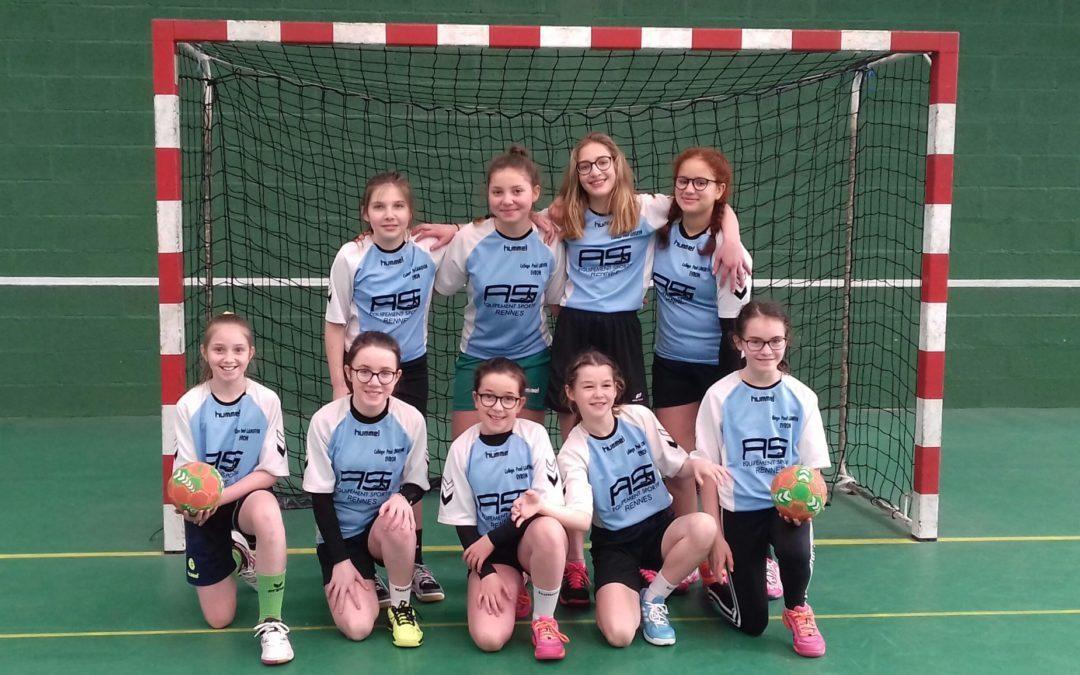 2 équipes aux championnats académiques de handball