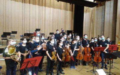 Un reportage national sur nos jeunes musiciens
